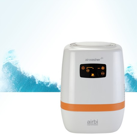 <p><strong>AIRWASHER </strong>humidifies <strong>the air</strong> and at the same time <strong>cleans it from impurities.</strong></p>